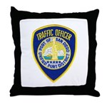 San Diego Port PD Throw Pillow