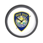 San Diego Port PD Wall Clock