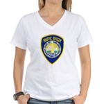 San Diego Port PD Women's V-Neck T-Shirt