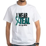 I Wear Teal For My Wife 10 Shirt