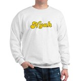 Retro Nyah (Gold) Sweater