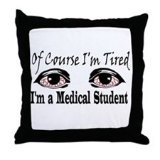 Medical Student Throw Pillow
