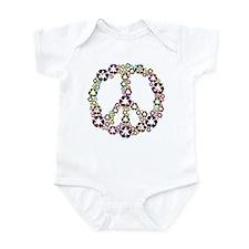 Patriotic Recycle Peace Infant Bodysuit