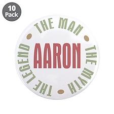 "Aaron Man Myth Legend 3.5"" Button (10 pack)"