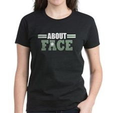 About Face Military Tee