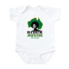 Black Aussie Infant Bodysuit