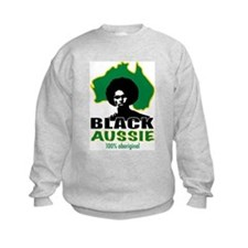 Black Aussie Jumper Sweater
