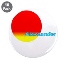 "Alexzander 3.5"" Button (10 pack)"