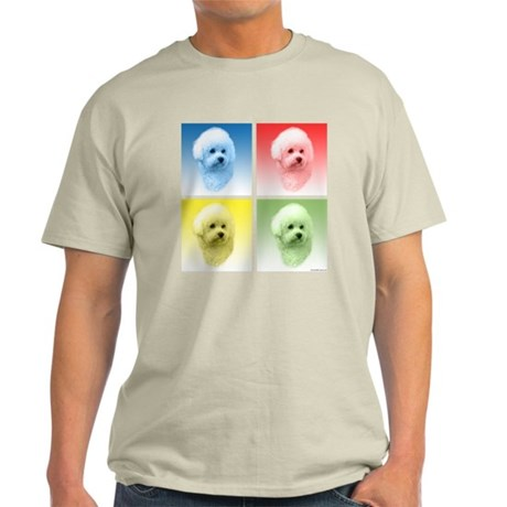 Bichon Pop Art Light T-Shirt