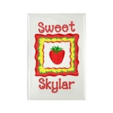 Sweet Skylar Rectangle Magnet