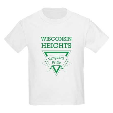 Wisconsin Heights School Kids Light T-Shirt