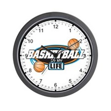 Basketball Is My Life Wall Clock