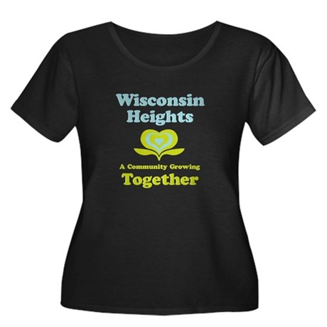 Wisconsin Heights School Women's Plus Size Scoop N