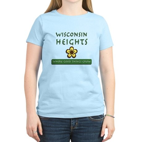 Wisconsin Heights School Women's Light T-Shirt