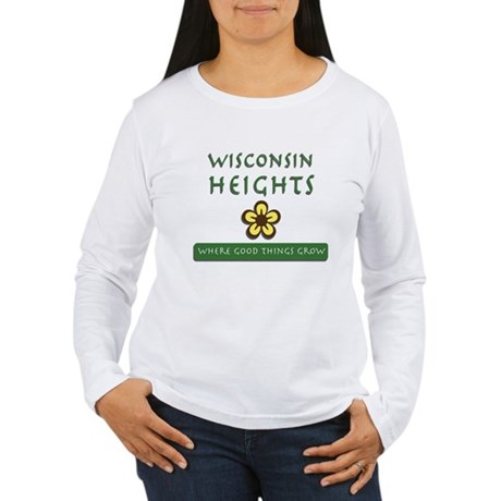 Wisconsin Heights School Women's Long Sleeve T-Shi