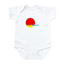 Alejandra Infant Bodysuit