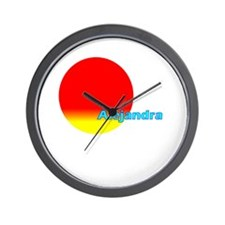 Alejandra Wall Clock