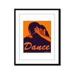 DANCE Framed Panel Print
