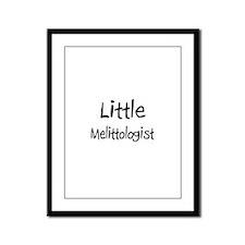 Little Melittologist Framed Panel Print
