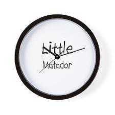 Little Matador Wall Clock