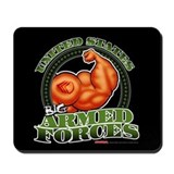U.S. Big Armed Forces - Mousepad
