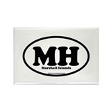Marshall Islands Rectangle Magnet (10 pack)