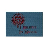 I Believe in Magick Rectangle Magnet (10 pack)