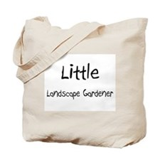 Little Landscape Gardener Tote Bag