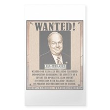 Rove Wanted Rectangle Decal