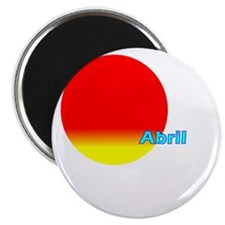 "Abril 2.25"" Magnet (100 pack)"
