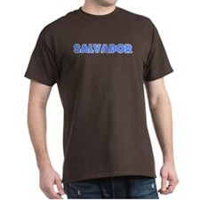 Retro Salvador (Blue) T-Shirt