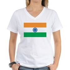 INDIA Womens V-Neck T-Shirt