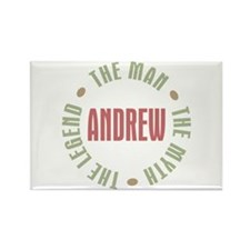 Andrew Man Myth Legend Rectangle Magnet (100 pack)