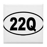 22Q Tile Coaster