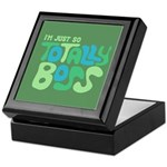 Totally Boss Keepsake Box