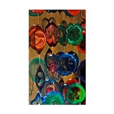Color Wheels Rectangle Sticker 50 pk)