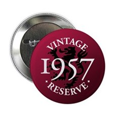 "Vintage Reserve 1957 2.25"" Button"