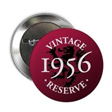 "Vintage Reserve 1956 2.25"" Button (100 pack)"