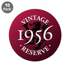 "Vintage Reserve 1956 3.5"" Button (10 pack)"