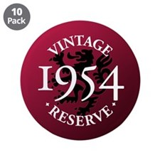 "Vintage Reserve 1954 3.5"" Button (10 pack)"