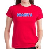 Retro Shaniya (Blue) Tee