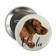 "Hungarian Vizsla 2.25"" Button (100 pack)"