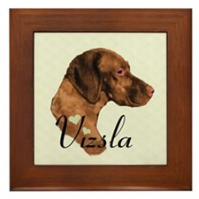 Hungarian Vizsla Framed Tile