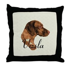 Hungarian Vizsla Throw Pillow