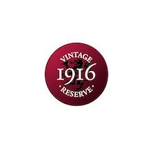 Vintage Reserve 1916 Mini Button (10 pack)