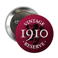 "Vintage Reserve 1910 2.25"" Button (100 pack)"