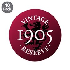 "Vintage Reserve 1905 3.5"" Button (10 pack)"