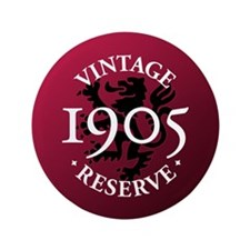 "Vintage Reserve 1905 3.5"" Button (100 pack)"