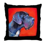Great dane #2  Throw Pillow
