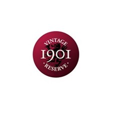 Vintage Reserve 1901 Mini Button